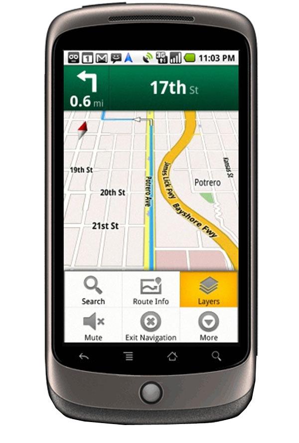 Google Nexus One, ya disponible con Vodafone y con navegación gratuita bajo Google Street View