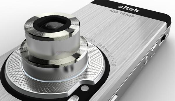 Altek Leo, móvil táctil con cámara de 14 megapíxeles y vídeo de alta definición