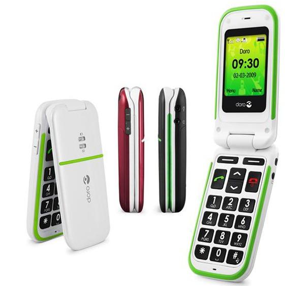 Doro PhoneEasy, teléfonos móviles e inalámbricos para personas mayores