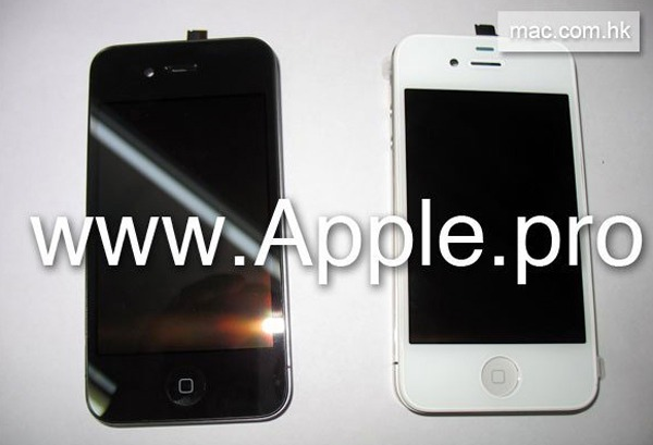 iPhone 4G, el móvil de Apple podrí­a estar disponible en color blanco
