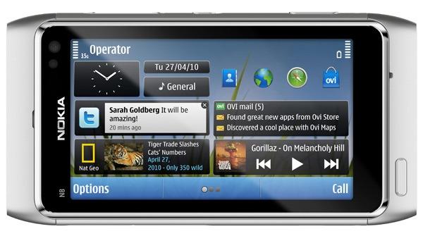Nokia N8, un vídeo muestra el funcionamiento multitáctil del Nokia N8