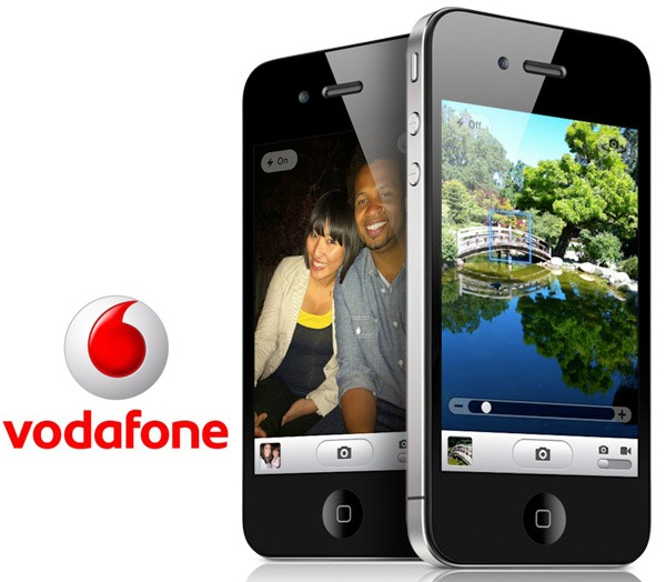 iPhone 4 con Vodafone, consigue el iPhone 4 con Vodafone