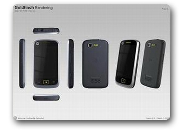 Motorola Goldfinch 8208, móvil táctil de gama media con sintonizador de TDT