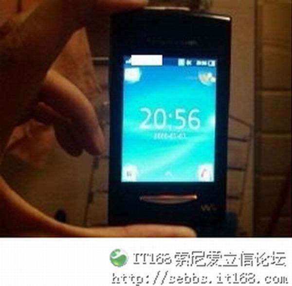 Sony Ericsson W150i TeaCake, filtrada la imagen de un nuevo terminal con Android