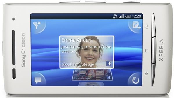 Sony Ericsson Xperia X8, llega la actualización a Android 2.1 Éclair para el Sony Ericsson X8
