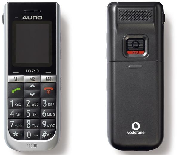Auro de Vodafone gratis, móvil con certificación Simplit para mayores con este Auro de Vodafone