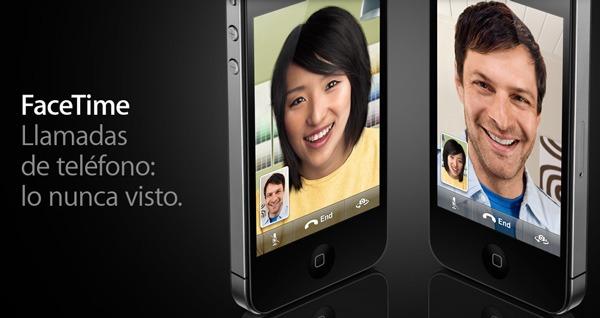 iPhone 4 FaceTime, videollamadas gratis con el iPhone 4 a través de Wi-Fi hasta 2011