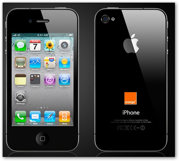 iPhone 4, disponible también con Orange