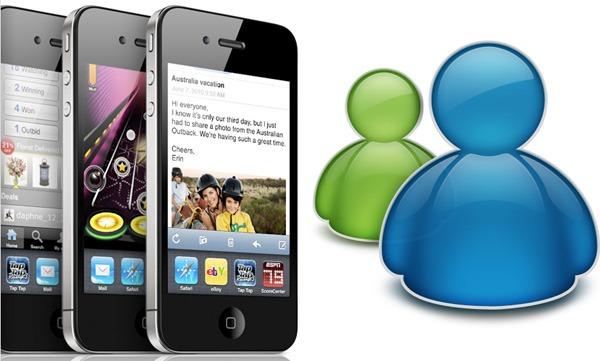 Messenger para iPhone, Windows Live Messenger por fin llega a iPhone
