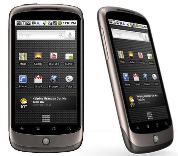 Nexus One, Google seguirá fabricando el teléfono después de agotarse