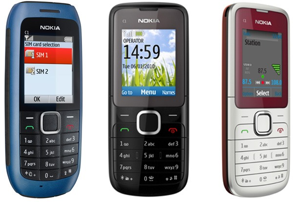 Nokia C1 y Nokia C2, móviles de gama sencilla con SIM Dual desde 30 euros