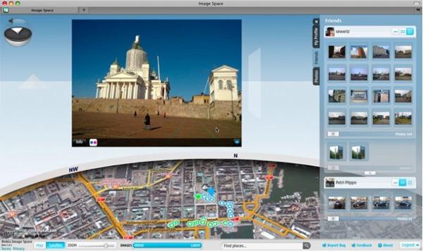 Nokia Image Space, el mapa con fotografías 3D podría estrenarse en el Nokia N900
