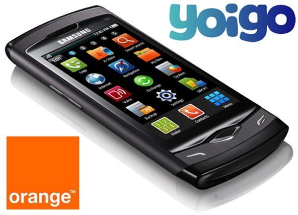 Samsung Wave gratis, Samsung Wave desde cero euros con Orange y Yoigo en The Phone House