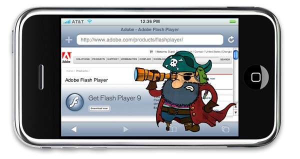 Flash en iPhone y iPad, Frash es la aplicación para ver contenidos Flash en iPhone y iPad