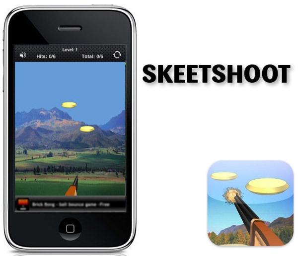 Aplicaciones gratis para iPhone, prueba tu puntería en el tiro al plato con SkeetShoot