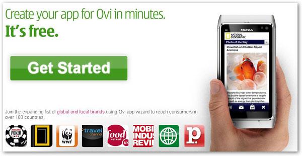 Ovi App Wizard, asistente para crear aplicaciones para Ovi Store