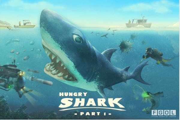 iPhone, el juego Hungry Shark I gratis por tiempo limitado para iPhone, iPad y iPod Touch