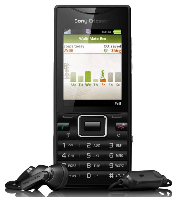 Sony Ericsson Elm, móvil con carcasa de plástico reciclado muy fácil de usar