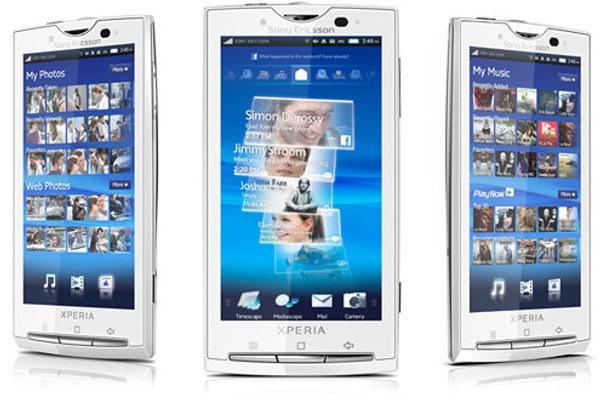 Sony Ericsson XPERIA X10, Android 2.3 llegará en agosto con funciones limitadas