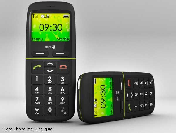 Doro PhoneEasy 345 gsm y Doro PhoneEasy 410 gsm, móviles al alcance de todos