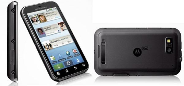 Motorola Defy, móvil táctil que desafía a las inclemencias, los golpes y los accidentes