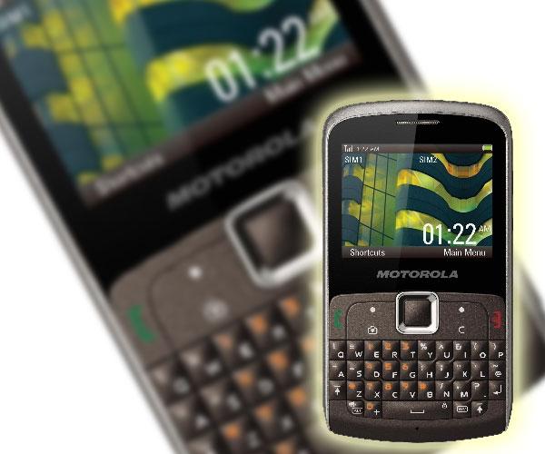 Motorola EX115 y Motorola EX128, móviles con SIM dual para el 18 de octubre