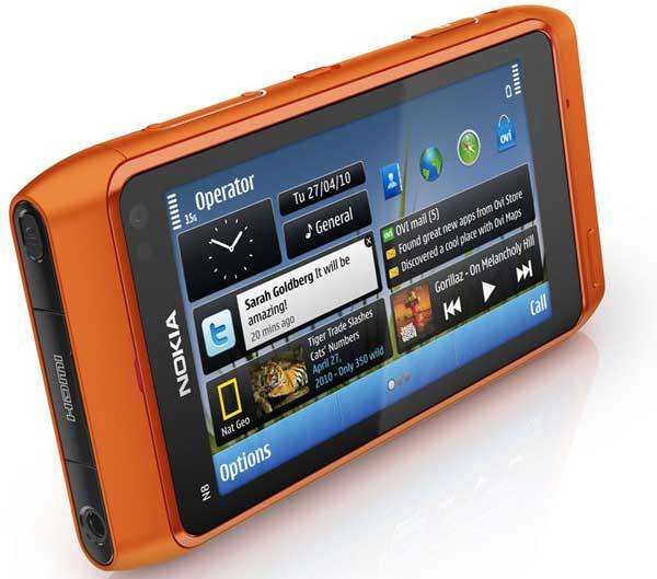 93f7f98818c Nokia N8 con Ovi Mapas, navegación GPS gratuita con Nokia N8