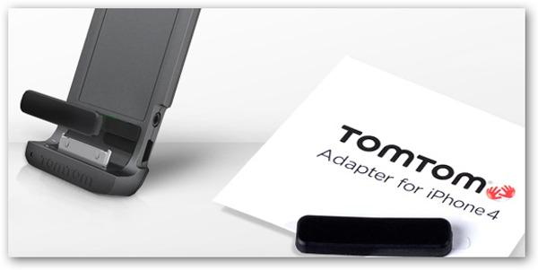 iPhone 4, Tom Tom regala un adaptador para llevar el iPhone 4 en el coche