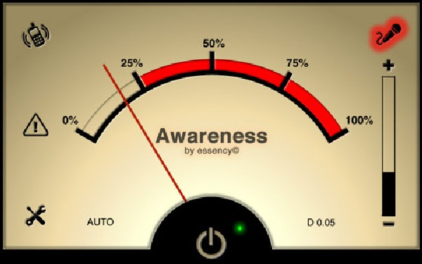 iPhone 4 Awareness!, aplicación para iPhone que limita el sonido de los auriculares