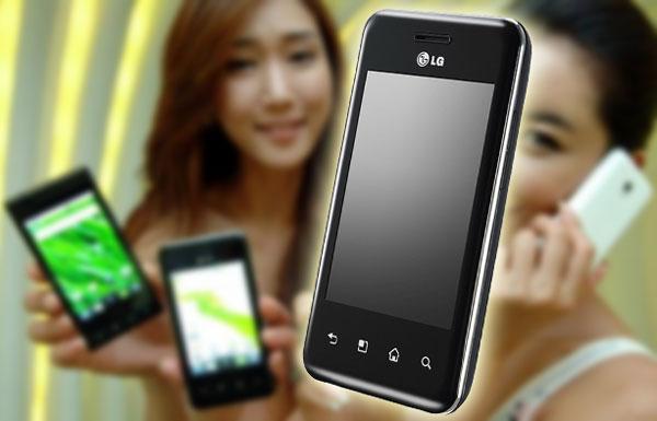 LG Optimus Chic, el móvil táctil con Android de la gama económica se presenta el 14 de septiembre