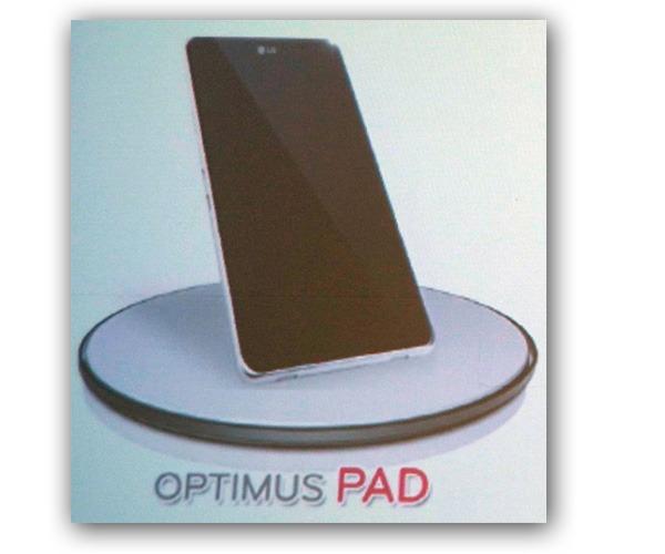 LG Optimus Pad, el tablet de LG que competirá con el iPad de Apple se llamará LG Optimus Pad