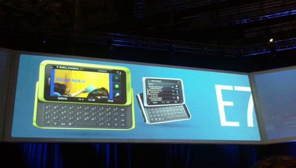 Nokia E7, el móvil profesional de gama alta de Nokia será el Nokia E7