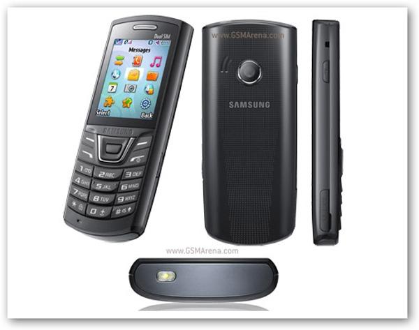 Samsung E2152, un teléfono móvil sencillo y económico con SIM Dual