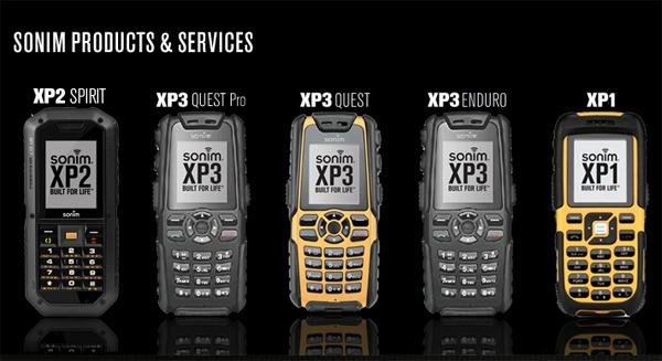 Sonim XP1300 Core, móvil muy duro con certificación IP68
