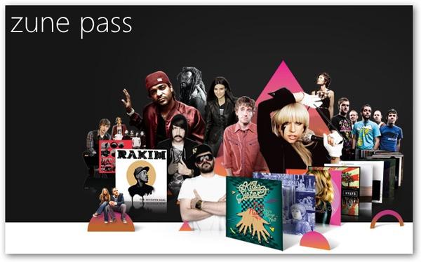 Windows Phone 7, el servicio musical Zune Pass funcionará en España a partir de octubre