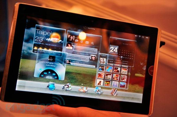 Asus Eee Pad EP101TC, el tablet de Asus prepara su lanzamiento para marzo de 2011