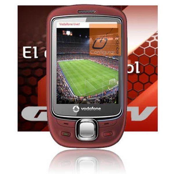 Gol TV y Vodafone, Gol TV estará disponible en el móvil a través de Vodafone