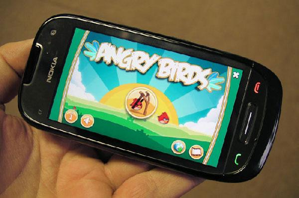 Angry Birds para Nokia N8 y Nokia C7 gratis, el juego Angry Birds llega a los Nokia N8 y Nokia C7