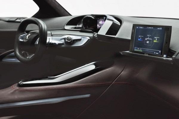 Peugeot presenta un coche con tablet Archos integrado