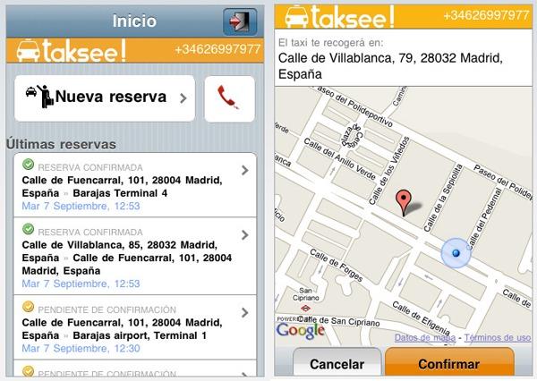 iPhone 4 Taksee!, cómo pedir un taxi desde el iPhone 4