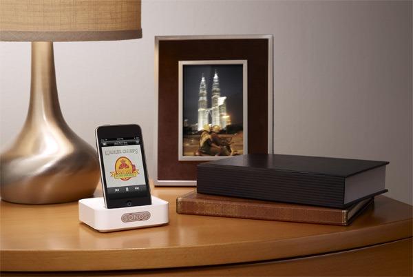 iphone sonos presenta un nuevo dock para iphone y ipod. Black Bedroom Furniture Sets. Home Design Ideas