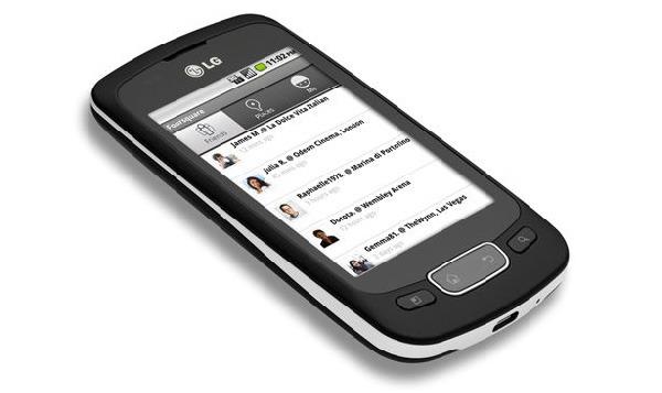 LG Optimus T, un nuevo móvil táctil de gama media se une a la fiesta Android 2.2