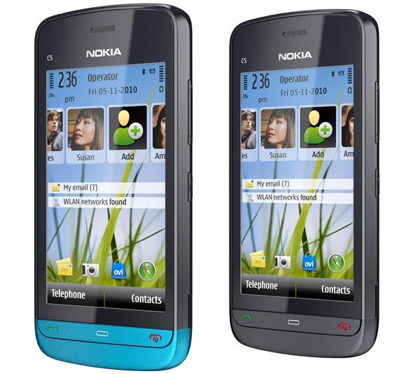 Nokia C5-03 libre, precio del Nokia C5-03 libre en la tienda de Nokia