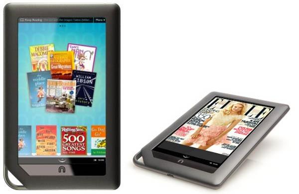 Nook Color, nuevo lector de e-books con pantalla a color y Android ...