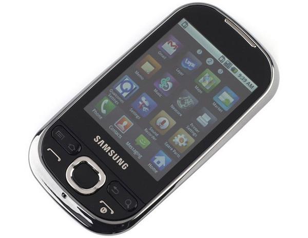 Samsung Galaxy 5 i5500 y Huawei U8110 Simyo, a la venta con Simyo