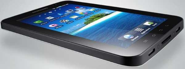 Samsung Galaxy Tab, el tablet de Samsung tendrá pantalla Súper AMOLED en 2011