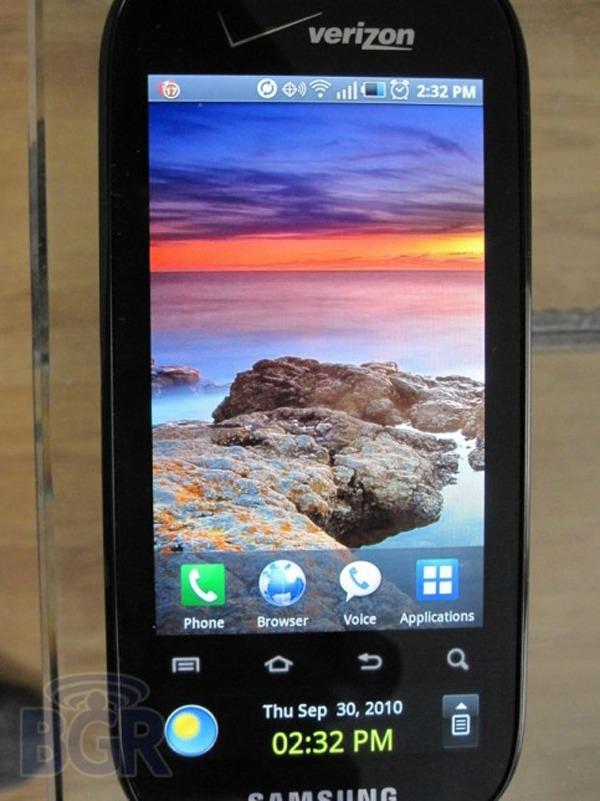 Samsung Continuum, un teléfono con doble pantalla táctil Super AMOLED