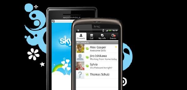 Skype llega por fin a móviles Android