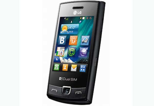 LG P520 o LG Terry, nuevo móvil táctil con SIM dual
