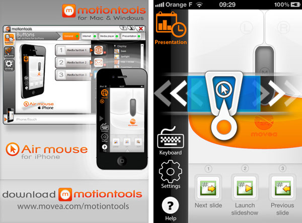 iPhone 4 Air Mouse, convierte tu iPhone 4 en un ratón de ordenador con esta aplicación